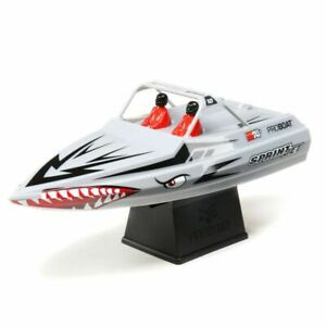 "Pro Boat Sprint Jet 9"" Power Electric RC Speed Boat - Silver"