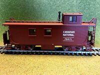 TRUE LINE TRAINS 1/87 HO CNR CANADIAN NATIONAL #78471 WOOD CABOOSE # 301179 F/S