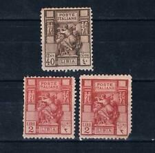 Libya 1926-29 PERF. 11 SC#40a,43a MH Libia Italy Colony