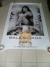 AFFICHE BALENCIAGA GAINSBOURG 4x6 ft Shelter Original Fashion Perfume Poster