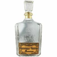 Vodka Zarskaja Tscharka Gold 1L russischer Wodka Karaffe