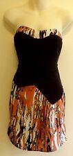 Size 12    NEXT    Strapless  Mini  Summer Party Dress
