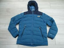 The North Face Mens La Paz Goose Down 600 Fill M Blue Hooded Jacket Hoodie