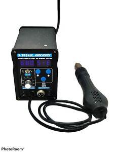 X-Tronic 6000 Series Model #6040-XTS-Hot Air Rework Station Read Description