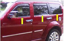 Molduras cromadas ventanas Dodge Nitro 2006-2011 (6 piezas)