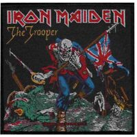 Iron Maiden Trooper Woven Patch Official Heavy Metal Band Merch New