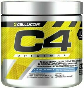 Cellucor C4 Pre Workout iD Series 30/60 serving Long Dated stock