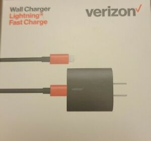 Original Verizon 6ft USB-C To LIGHTNING Quick Charge 3Amp Fast Home 4 IPHONE
