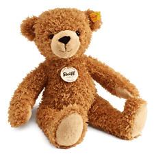 Steiff Happy light brown Teddy Bear Large with Free Steiff gift box EAN 012617