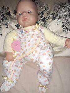 BABY CHOU CHOU DOLL. WITH SLEEPSUIT