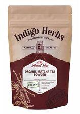 BIO Matcha Tee Pulver - 50g - (Zeremonielle Qualität) Indigo Herbs