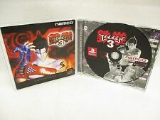 TEKKEN 3 III Item Ref/ccc PS1 Namco Playstation PS Japan Game p1