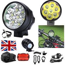 7x Cree Xm-l T6 MTB 10000lumen Mountain Bike Bicycle Cycling Head Light Headlamp