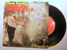 "CAPTAIN SENSIBLE'S  - WOT ! - 7"" Vinyl Record : EX (p399)"