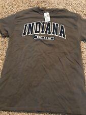 Indiana EST 1816 United States T-Shirt Grey Size Medium