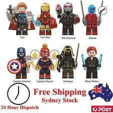 Marvel Avengers Superhero Minifigures Set - Building Block Compatible Toy Thor