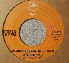 Charlie Rich ‎– America, The Beautiful (1976) / Down By The Riverside (VG+)