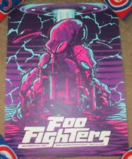 FOO FIGHTERS concert poster print SIOUX FALLS 11-11-17 2017 Mariano Arcamone
