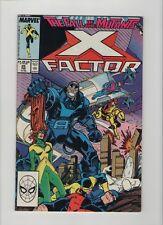 X-Factor #25 - Horsemen Of The Apocalypse - 1987 (Grade 9.2+) WH