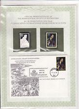 enveloppe timbre neuf et argent association receveurs de la poste  Espagne 20
