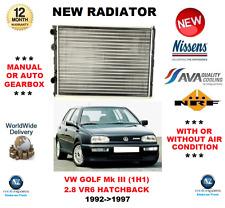 Para VW Golf Mk III 1H1 2.8 VR6 Hatchback 1992-1997 Radiador ** OE Calidad**