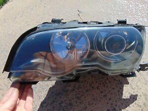 1999-01 BMW E46 323i 325i 330i Xenon Headlight w/ Restored Lens LH Driver Black
