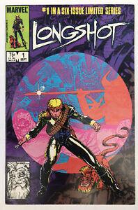Longshot #1 - 1st App Longshot - Marvel Comics