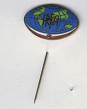 FIRA Congress 1967 - Zagreb- pin - 21mm RUGBY ENAMEL PIN BADGE