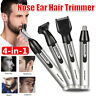 Electric Beard Eyebrow 4 in 1 Ear Nose Hair Clipper Shaver Trimmer Rechargeable