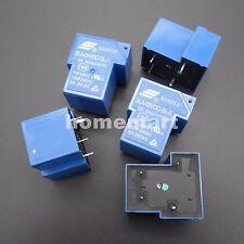 5PCS SLA-05VDC-SL-A 4 Pins SONGLE R Power Relay 5V DC SLA Original 30A Switching