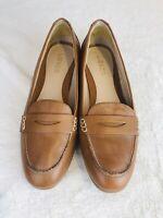 Liz Claiborne Loafers Women's Sz 8M Leather 024-2133