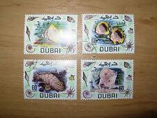 Fish Used United Arab Emirates Stamps