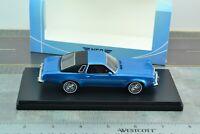NEO 47186 Chevrolet Malibu 2 Door 1974 Blue Car 1/43 Scale