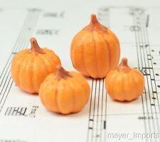 Realistic Pumpkin - Set of 4