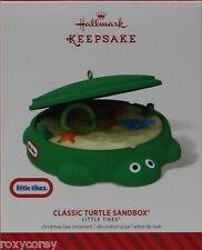 Hallmark Keepsake Little Tikes Classic Turtle Sandbox Christmas Tree Ornament