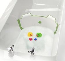 BabyDam Bathwater Barrier (White/Green) Eco Friendly Water Saving Device