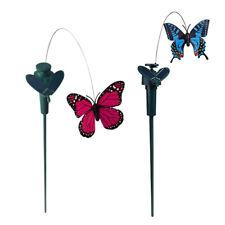 2 Pezzi Paletti Farfalla Svolazzanti Danza Senza Sole Arredamento Giardino