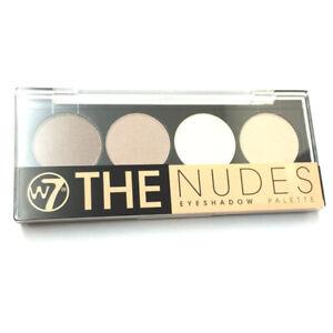W7 Makeup Make Up The Nudes Eye Shadow Palette Set Brown Cream Beige Natural