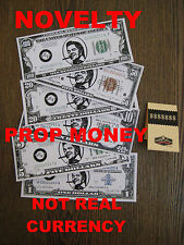 Back to the Future 2 NOVELTY BIFF Bills  -NOT REAL CURRENCY [ Set of Six Notes ]