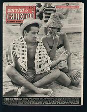 SORRISI E CANZONI 31/1957 EMILIO PERICOLI BONAVOLONTA' BONGIOVANNI MARZOCCHI