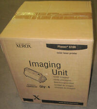 LOT 4 - GENUINE Xerox Phaser 6100 Imaging Unit Drum 108R00593 108R593 NEW SEAL!