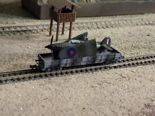 FLEISCHMANN, WWII MILITARY WAGON WITH A HARICANE LOADED, SCALE N
