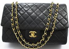 Chanel 2.55 Sac Chain Sac a bandouliere shoulder bag MATELASSE TAILLE XL Lambskin