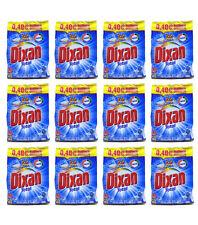 12pz DIXAN TOTAL Detersivo Lavatrice in polvere 15 misurini detersivo bucato