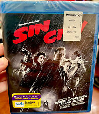 Sin City (Blu-ray, 2011): Jessica Alba, Bruce Willis, Mickey Rourke - New Sealed