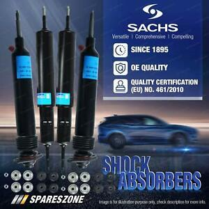 Front + Rear Sachs Shocks for Mazda B-Series Bravo B1600 B1800 B2000 Ute 71-84