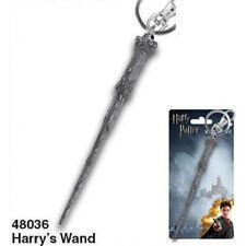 Harry Potter Harry's Wand Metal Keyring Keychain, NEW UNUSED