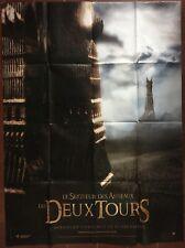Affiche LE SEIGNEUR DES ANNEAUX Les Deux Tours LORD OF THE RINGS 120x160cm b *