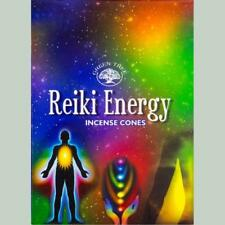Reiki Energy - Cone Incense by Green Tree 10pk