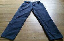 """Vintage Nico Premium Dark Blue Jeans, Waist 33.5"""", 85cm, Inseam 31"""", Button Fly"""